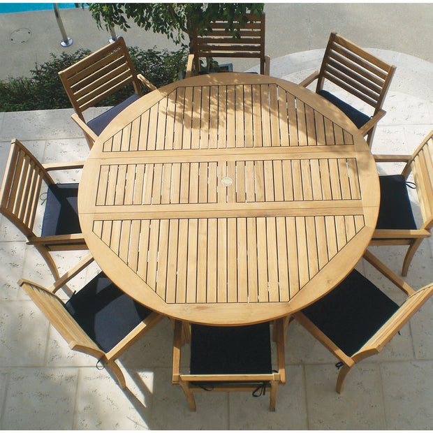 9 Piece Drop Leaf Dining Set