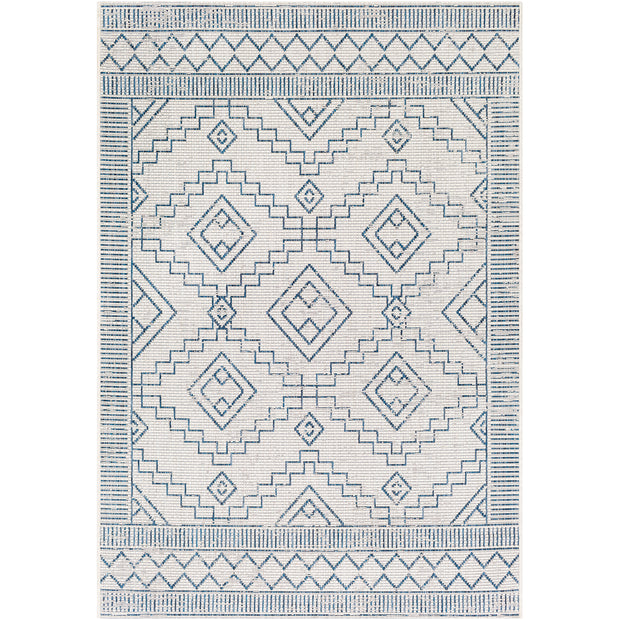 Eagean Outdoor Rug in White