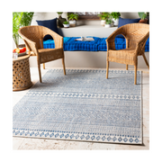 Eagean Rug in Natural Blue
