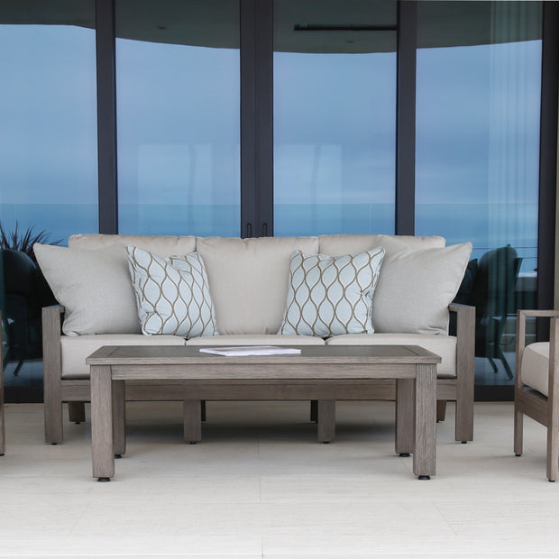 Sunset West Laguna 5-Piece Lounge Set with Sunbrella Cushions