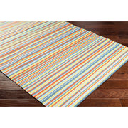 Maritime Outdoor Rug in Multicolor Stripe