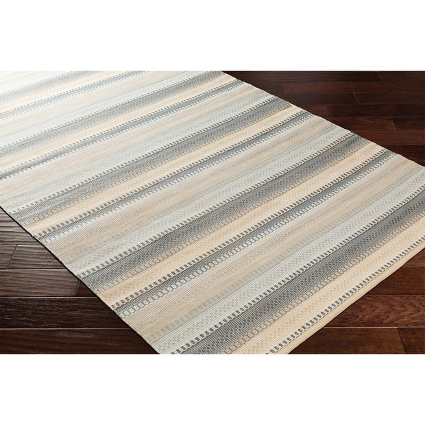Maritime Coastal Stripe Outdoor Rug