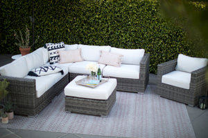 The New Standard - Sunbrella© Outdoor Sectional Set - 7 Pieces