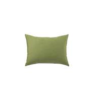 Yacht Sunbrella Throw Pillow in Olive