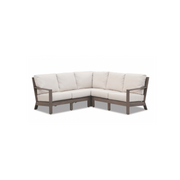 Sunset West Laguna Sectional Sofa with Sunbrella Cushions