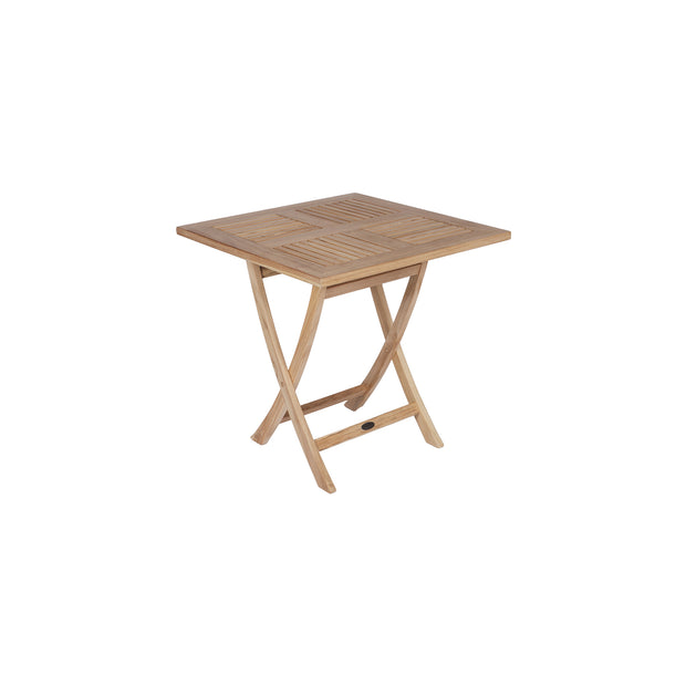 Sailor Teak Square Folding Table