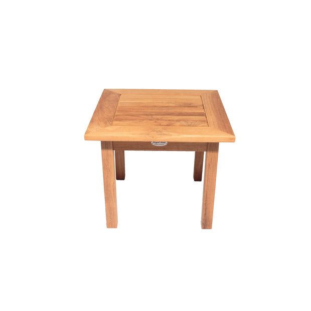 Miami Natural Teak Side Table - Square