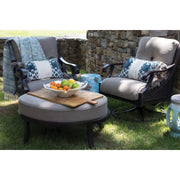 Somerset Ottoman with Sunbrella© Cushion