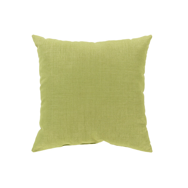 Storm Throw Pillow in Green