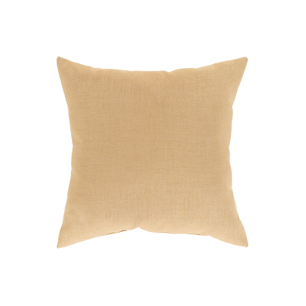 Storm Throw Pillow in Wheat