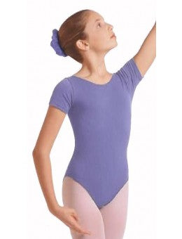 Eurotard 1043C Girls Short Sleeve Leotard