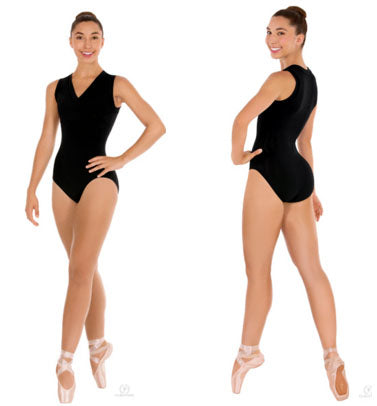 Adult Eurotard Wrap Front Tank Leotard