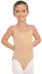 Child Professional Seamless Camisole Leotard