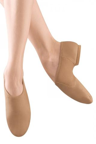 Bloch S0495L Neo-Flex Jazz Shoe - Tan
