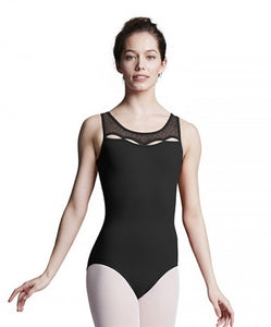 Bloch Adult Keyhole Neckline Open Back Tank Leotard L8985