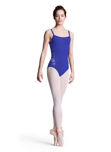 Bloch Princess Line Adult Floral Mesh Back Leotard