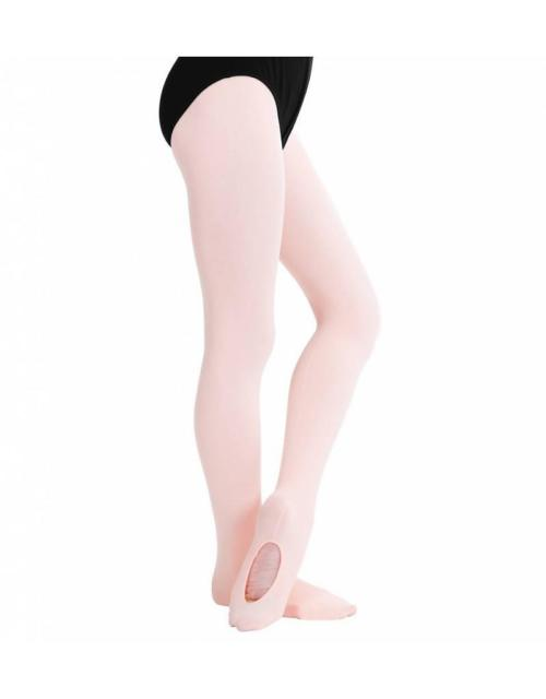 Adult Capezio Mesh Transition Tights Ballet Pink
