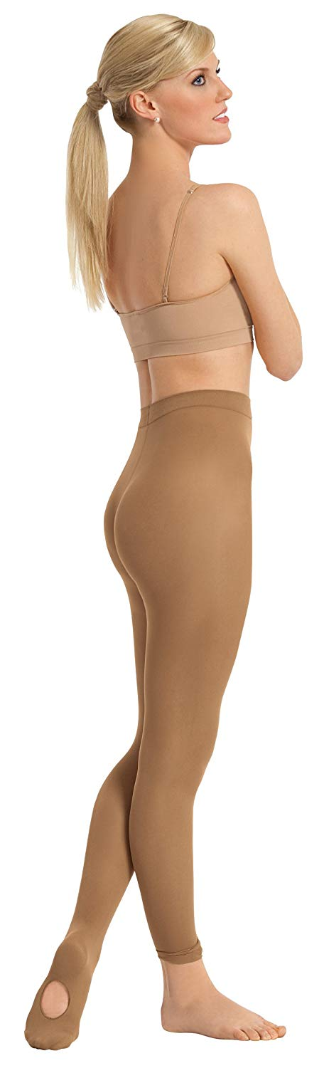 Euroskins 210 Convertible Caramel Tights