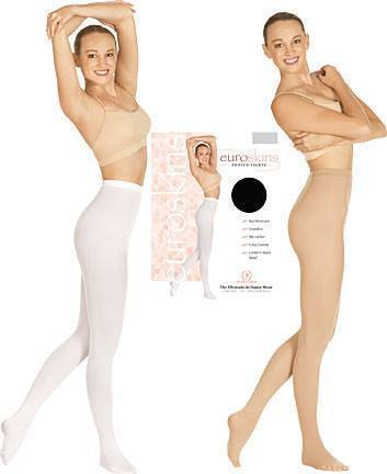 Euroskins 215 Footed Tights (Available in Several Colors)