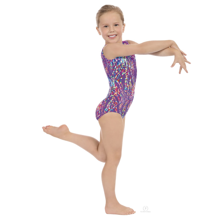 Eurotard Child Peacock Gymnastics Tank Leotard