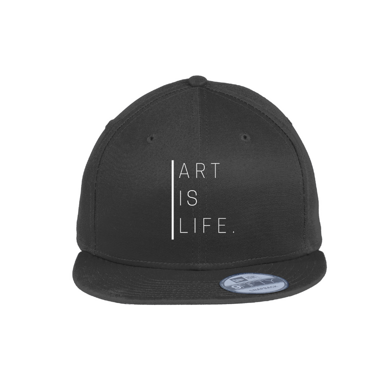 Art Is Life Snapback Hat