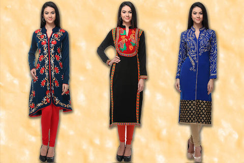 Winter Fashion - The Indian Avatar