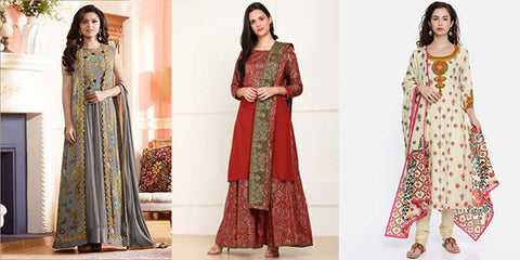 10 Latest Tunic Styles in Ethnic Salwar Suits