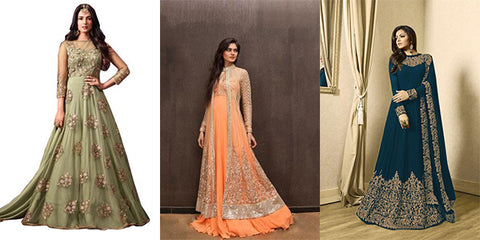 Perfect Indian Bridal Gowns