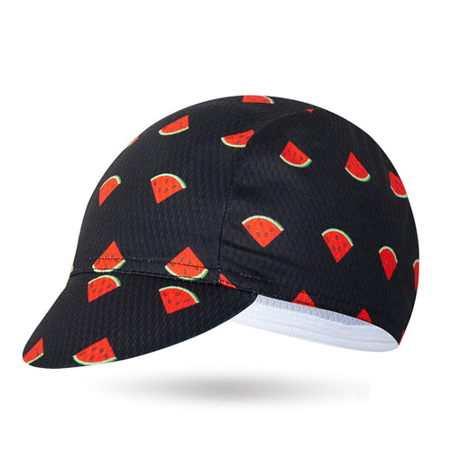 Classical Watermelon Cycling Caps Men and Women Bike Wear Bicycle Cap MTB Hats One-Size Headwear Custom Cycling Cap Scarfs