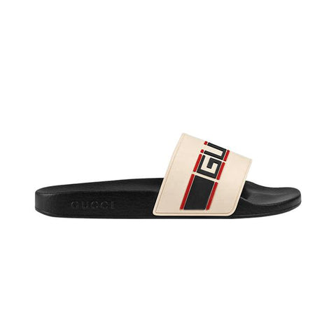 Gucci Stripe Rubber Slide
