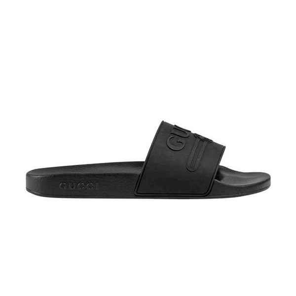 Gucci Logo Rubber Slide