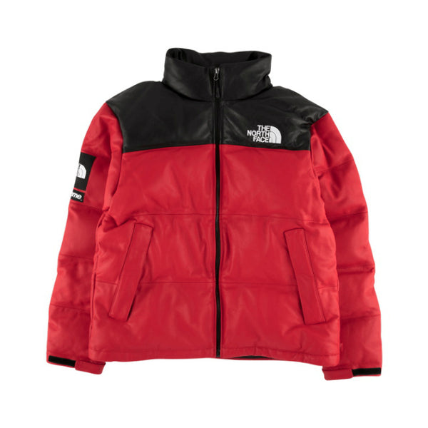Supreme x TNF Leather Nupste Jacket