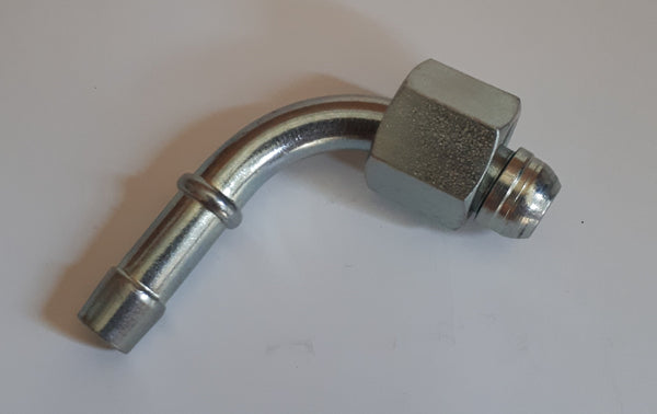 M14x1.5 Metric 90 degree elbow with sealing cone Swept Hose fitting
