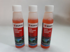 3 X Wurth Premium Rapid Windscreen Cleaner 32mL