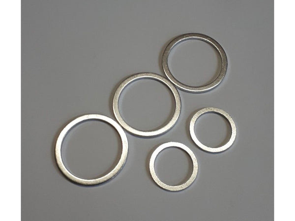 Porsche 911 fuel tank Alu sealing washer kit 900.123.011.20 and 900.123.011.30