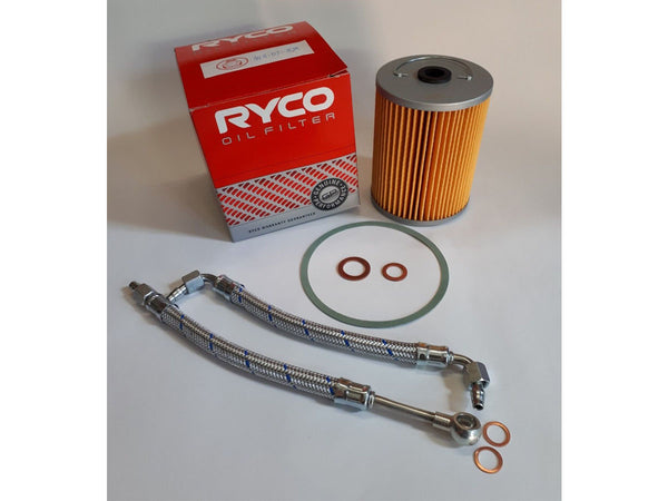 Porsche 356, 912 Oil filter and Oil line kit Part No. NLA.07.828