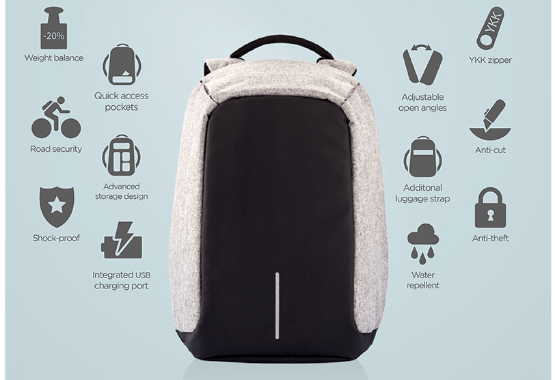 2143ca858094 Anti-Theft Backpack with USB Charger – MyGearStory