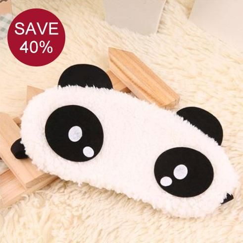 Travel Sleep Kit - Cute Panda Sleeping Traveling Eye Mask