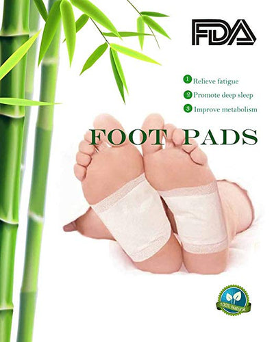 Premium Herbal Detox Foot Pads (10 pads+10 covers)
