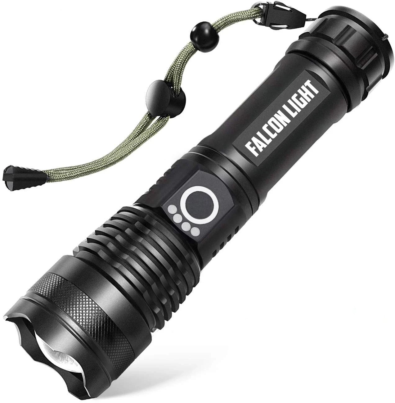 FalconLight™ High-Lumen Tactical Flashlight