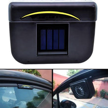 Portable Solar Powered Car Auto Air Vent Cooler