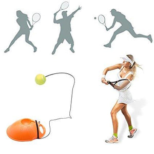 Rebound Tennis Trainer Self-Study Set Training Aids