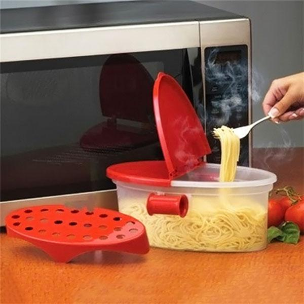 Perfect Microware Pasta Cooker Heat