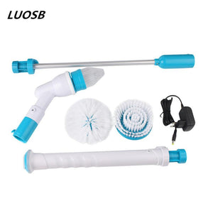Multifunction Spin Scrubber with 3 Spin Scrubber Brush Heads and Charger