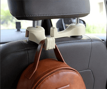 2 in 1 Multi-functional Car Headrest Hook (2 pcs)