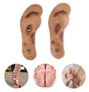 Hot Magic InSole Acupressure Magnetic Slimming Foot Massager Therapy Weight Loss