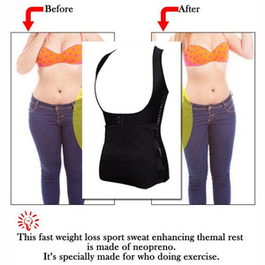 Adjustable Waist Trainer Vest Corset