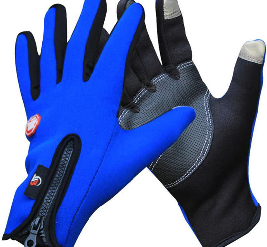 Sports Bike Gloves Full Finger for Phone Touch Screen