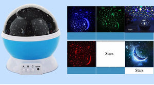 Coversage Rotating Night Light   Romantic Led USB Lamp Projection