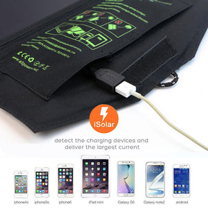 USB Solar Panel Phone Battery Charger for iPhone